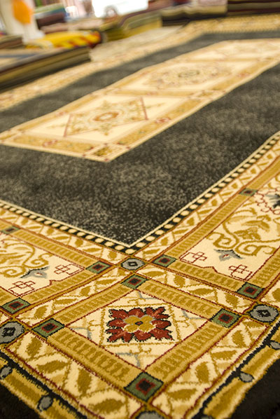 Motifs and Colors on Persian Rugs